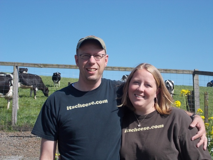 Photo of Kent and Jacki at Point Reyes Farmstead
