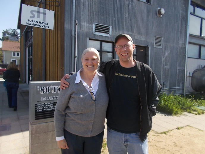 Photo of me with co-founder Peggy Smith