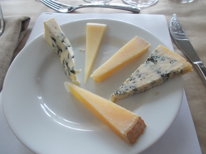Photo of cheeses from Point Reyes Farmstead