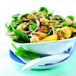 Shropshire Blue, Orange and Spinach Salad
