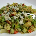 Chopped Salad with Point Reyes Blue Cheese Vinaigrette