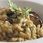 Mushroom Risotto with Ivernia Cheese