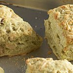 Ivernia Sage and Walnut Cheese Crusted Biscuits