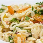 Orzo Salad with Arugula and Mizithra Cheese