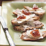 Walnut Toasts with Fig Jam and Manchego Cheese  Read More http://www.epicurious.com/recipes/food/views/Walnut-Toasts-with-Fig-Jam-and-Manchego-Cheese-236525#ixzz1kg8mwrSj