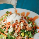 Buffalo Chicken Salad with Cashel Blue Dressing