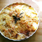 Red Hawk Potato Gratin