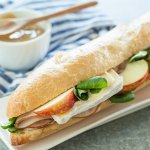 Mt. Tam Cheese and Turkey Baguette Sandwiches