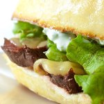 Pepper Jack Steak Sandwich