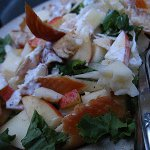 Trout-Apple Salad with Horseradish Cheddar