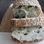Taleggio Bread With Olives